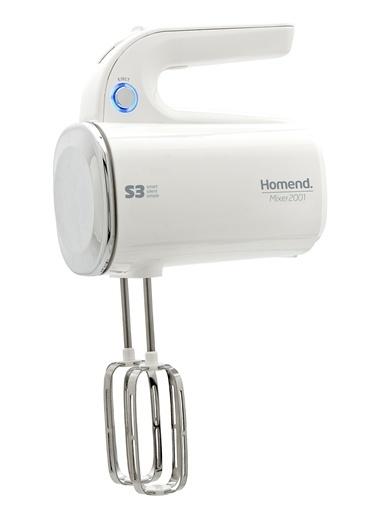 Homend 2001 S3 Mikser 300 W Beyaz